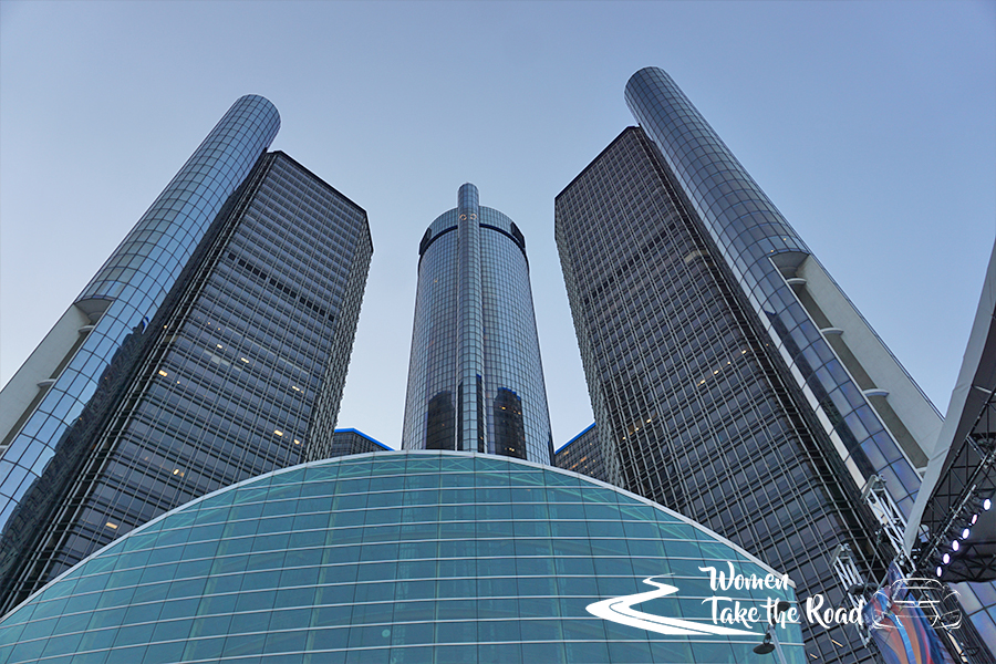GM World GM Ren Cen Detroit