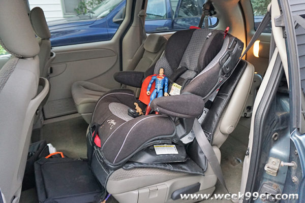 car seat requirements michigan